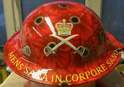 RAPTC Poppy Helmet