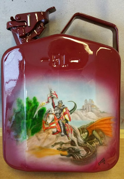 St George & Dragon Jerrycan