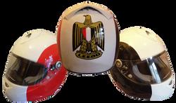 Egyptian Flag Helmet