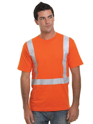 USA100% Cotton High Visibility Short Sleeve