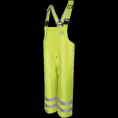 Bulwark Premium Flame-Resistant Rain Bib