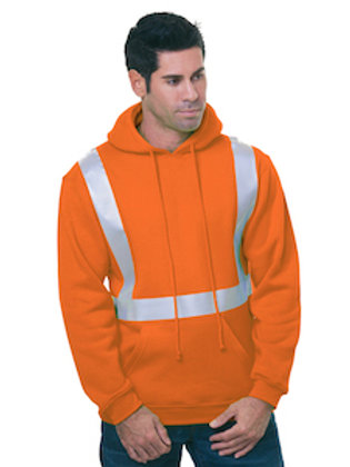 USA80 Cotton 20 Polyester High Visibility Hoodie