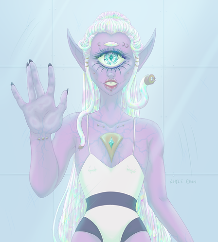 Cyberclops Illustration