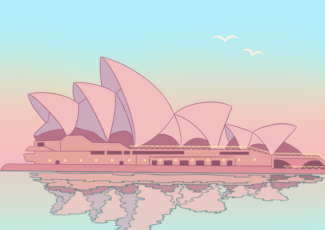 Sydney Opera House - Colour by Numbers C