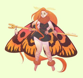 Moth Faery