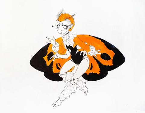 Mothgirl #13