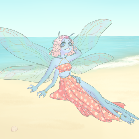 Summertime Dragonfly