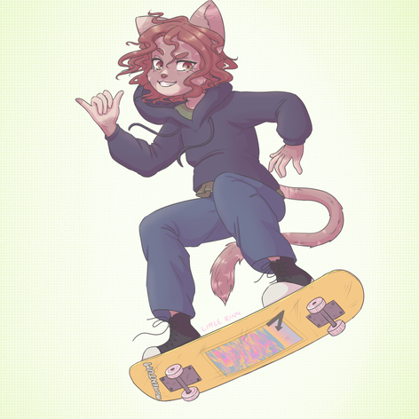 Gnarley Cat