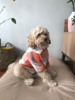 Turuncu Yünlü Oduncu Gömleği