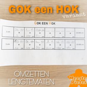 GOK een HOK: omzetten van lengtematen