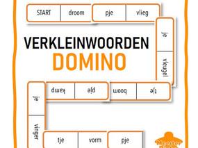 Verkleinwoorden Domino