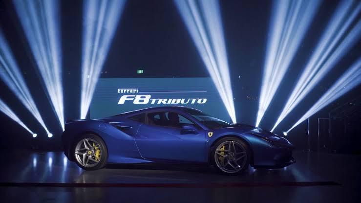 Ferrari F8 Tributo Australia Launch