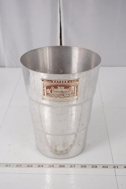 Aluminum Wine Chiller Bucket