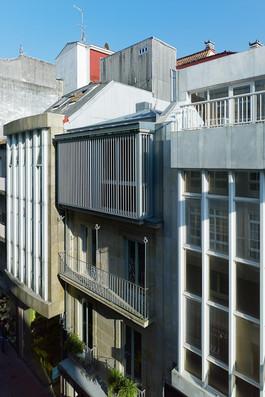 Edificio Rúa Oliva en Pontevedra