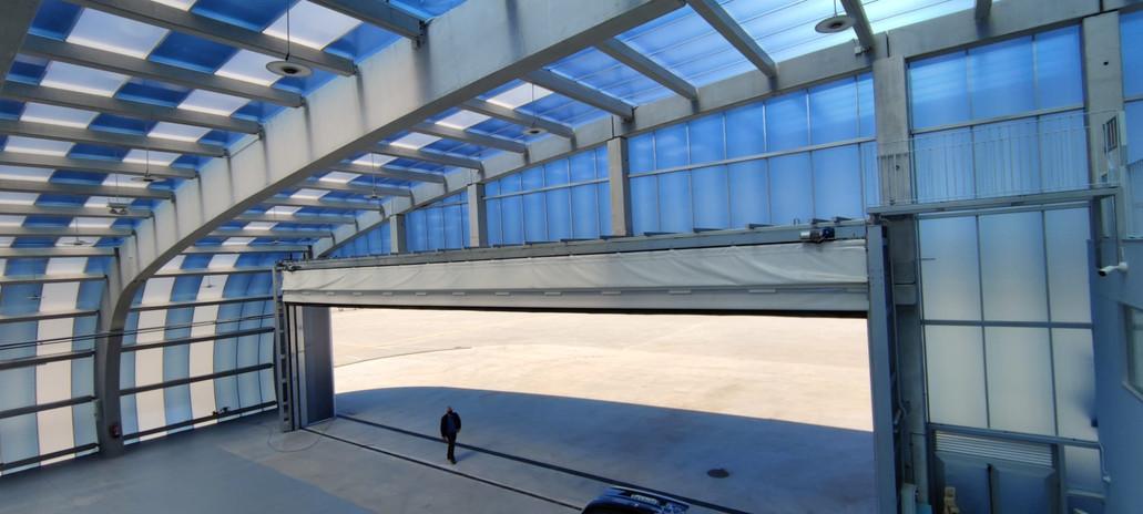 Hangar de Drones en el Aeródromo de As Rozas en Lugo