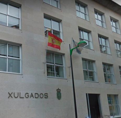 Edificio de Juzgados en Cambados