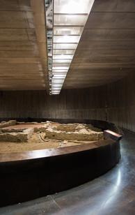Centro de interpretación que albergara los Restos Arqueológicos del Yacimiento del Caldoval