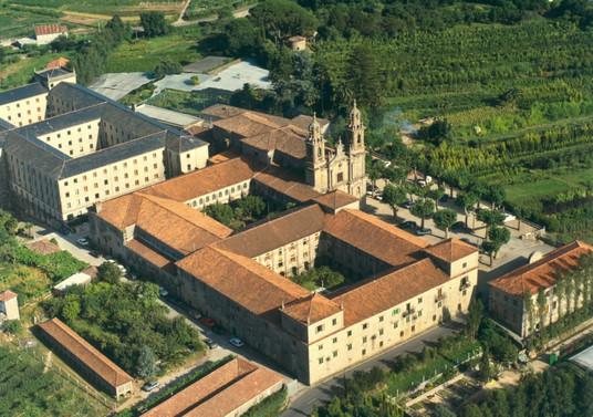 Cubierta Monasterio de Poio (San Xoan)