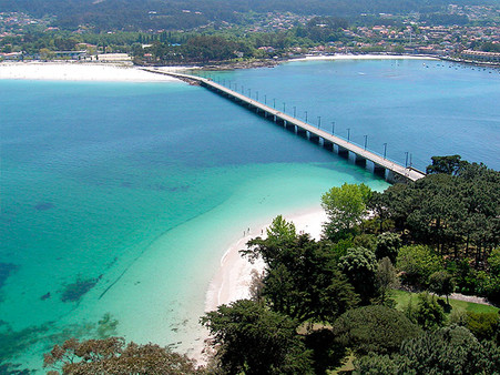 Reparación Puente de acceso a la Isla de Toralla