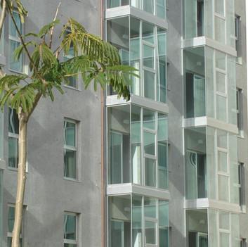 Edificios de viviendas urbanización Galeras, Santiago