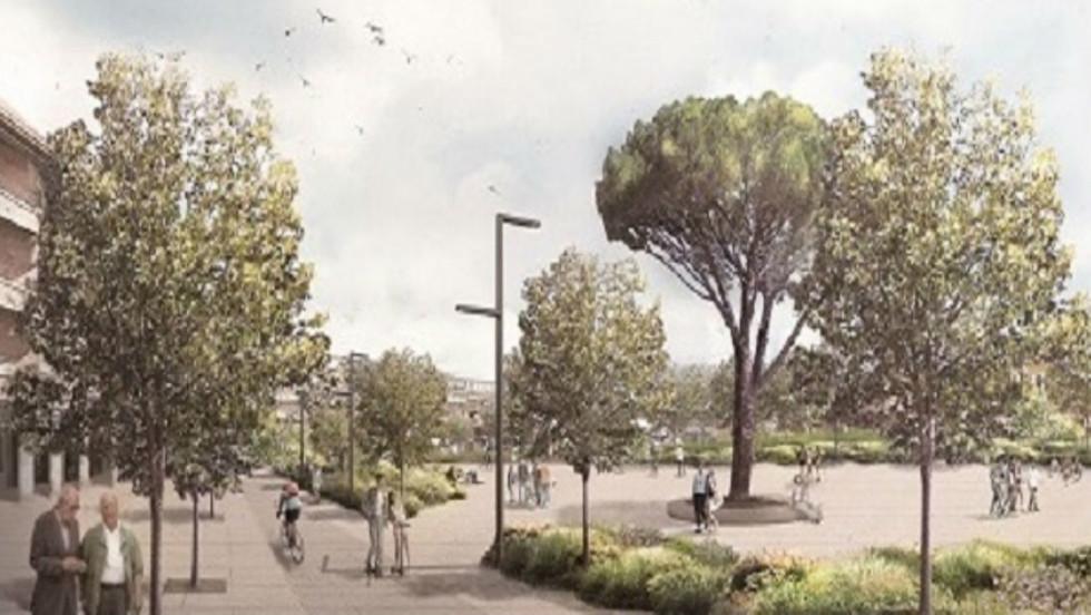 Urbanización Plaza Los Belgas, Villalba