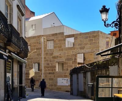 Rehabilitación Vivienda unifamiliar en el Casco Vello, Vigo