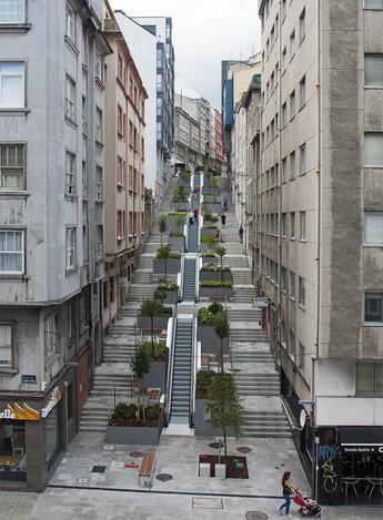 Urbanización Maestro Clavé, A Coruña