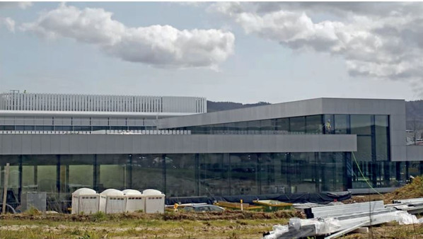Tres Edificios de INDITEX en Arteixo