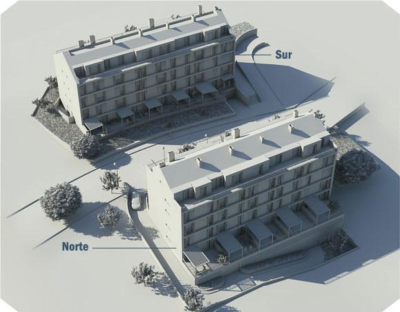 Edificios de viviendas Promociones Mario Puentes