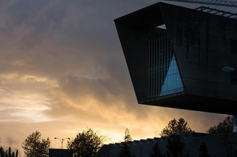 Edificio MTI de Universidad de Vigo