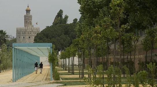 Muelle Nueva York en Sevilla