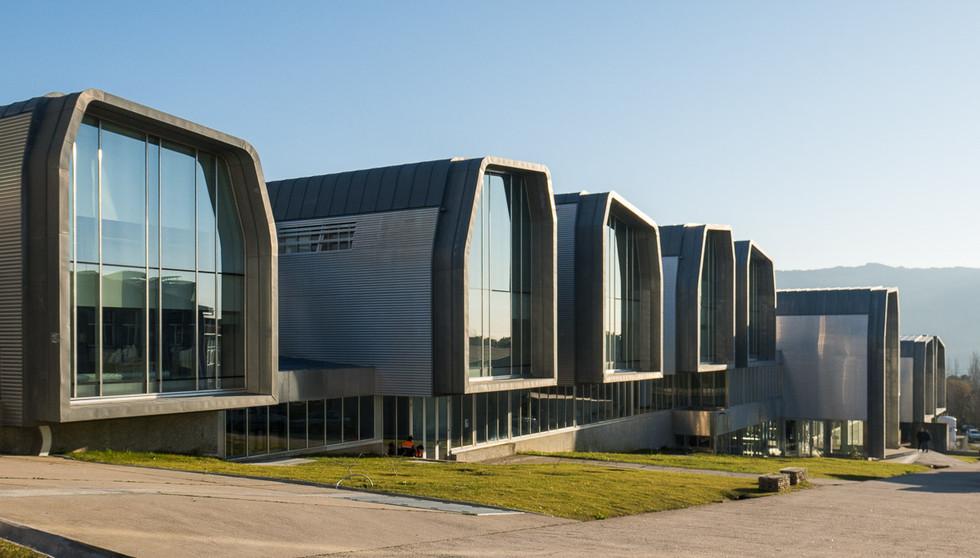 Edificio CACTI Universidad de Vigo