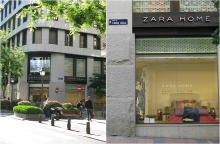 Tienda ZARA HOME Calle Hermosilla, Madrid