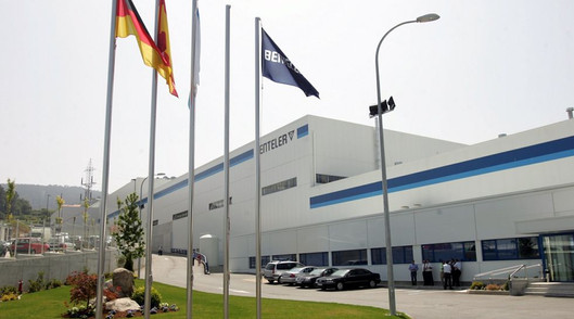 Comentación nave industrial BENTELER, Vigo