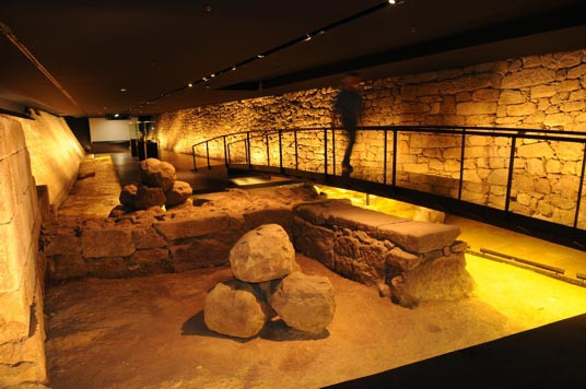 Museo muralla Arzobispales Pontevedra