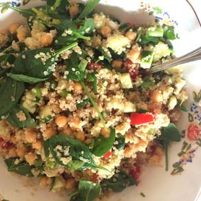 Recipe: Summer Quinoa and Chickpea Salad