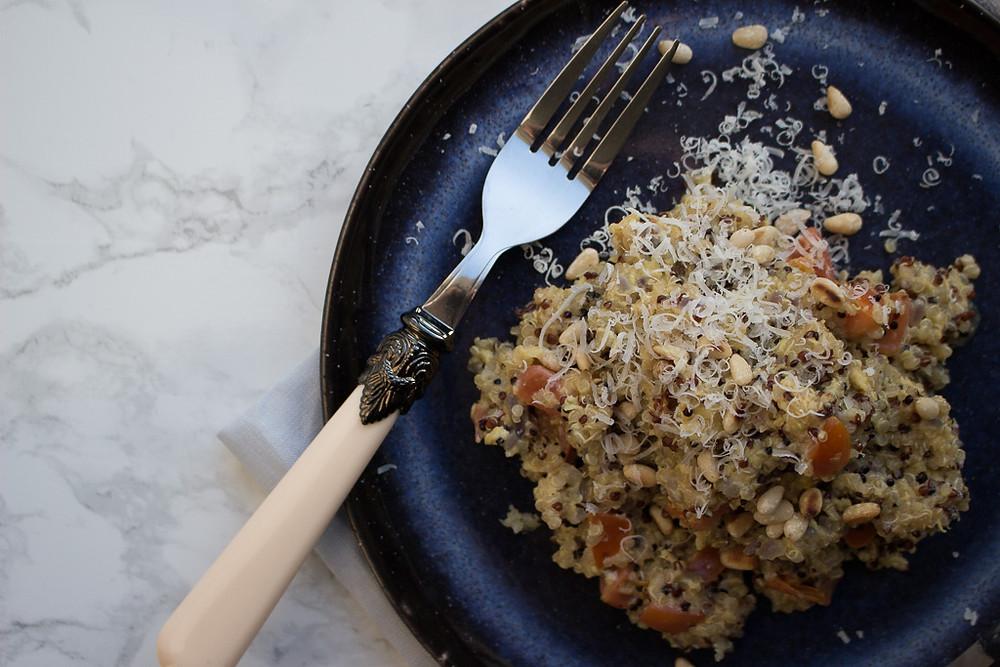 Egg & Quinoa Scramble