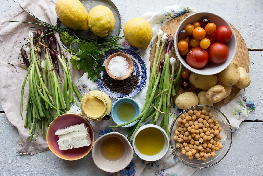 Image of salad ingredients