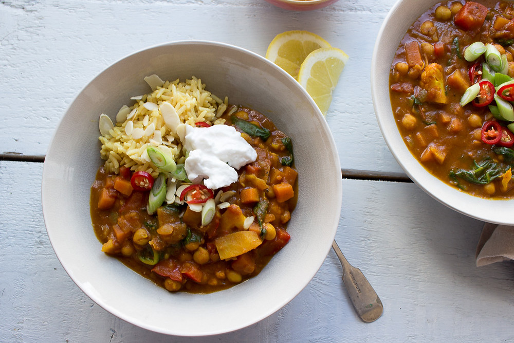 Picture of Vegetable & Chickpea Curry