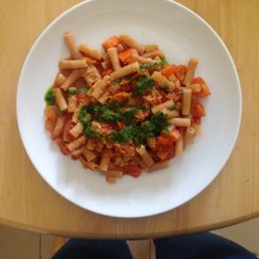 Recipe: Tomato Pasta with Basil Oil – A Taste of Italy!!