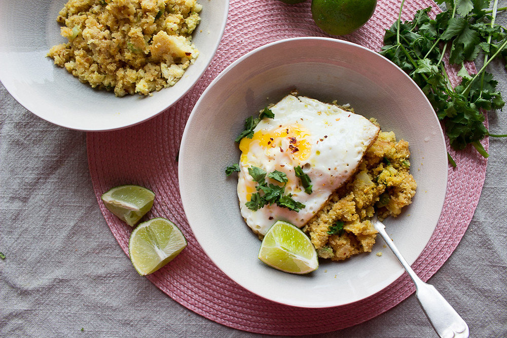 Picture of Miso Cauliflower Rice with Eggs