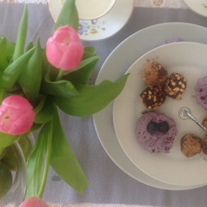 Recipe: Mini Blueberry Cheesecakes