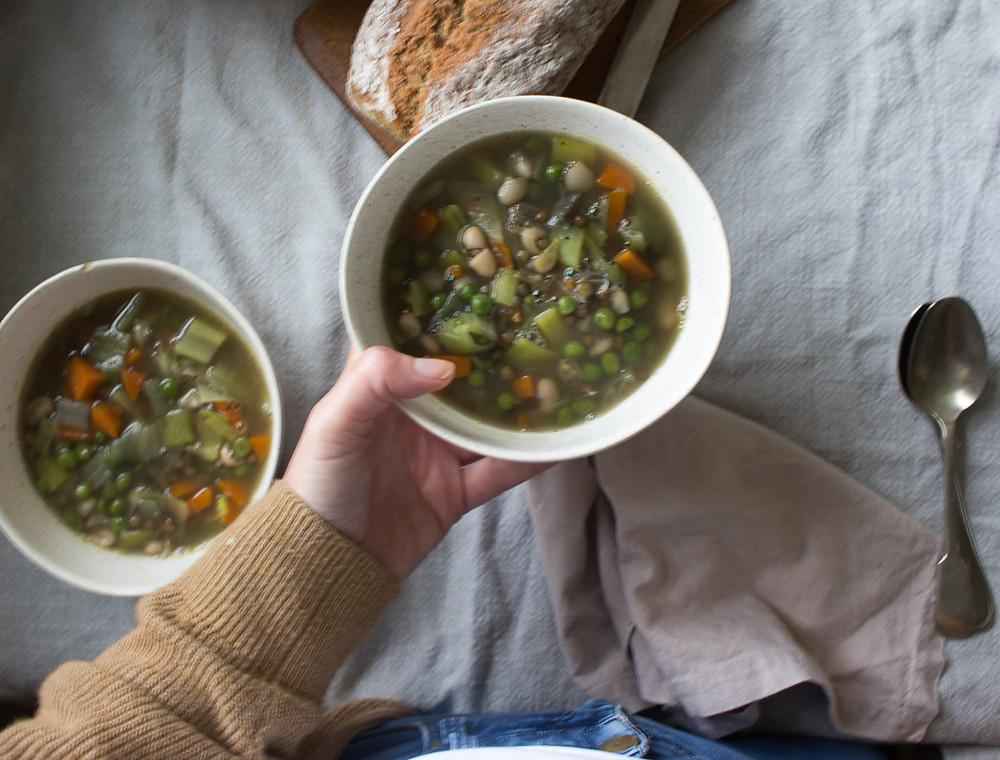 Winter Vegetable Broth
