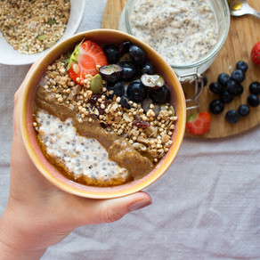 HOW TO MAKE OVERNIGHT CHIA OATS