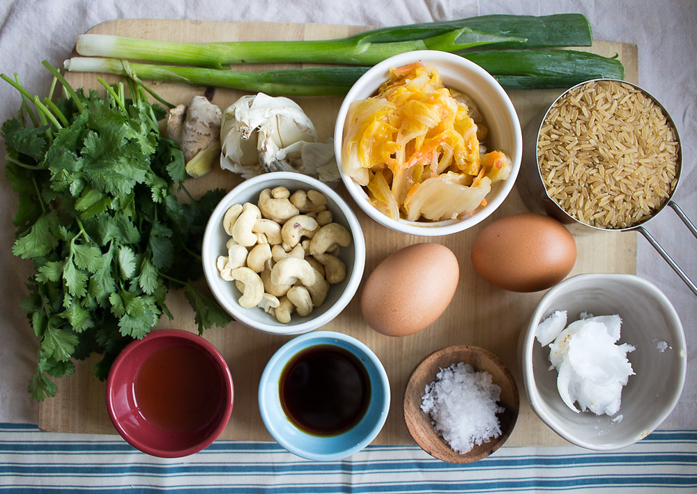 Photo of Kimchi Fried Rice ingredients