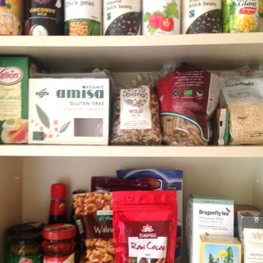 Plant based eating - Cupboard essentials
