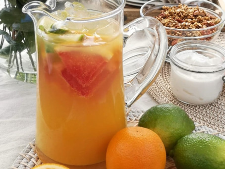 FIVE EASY NON ALCOHOLIC SUMMER DRINKS