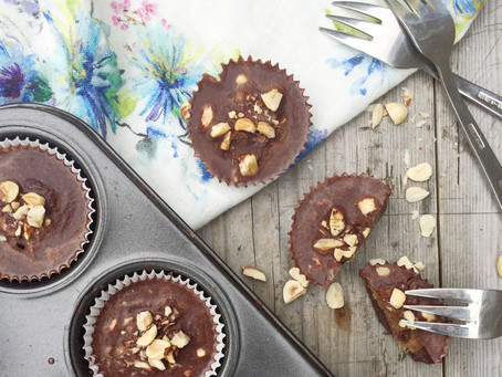 These chocolate hazelnut butter cups are phenom!