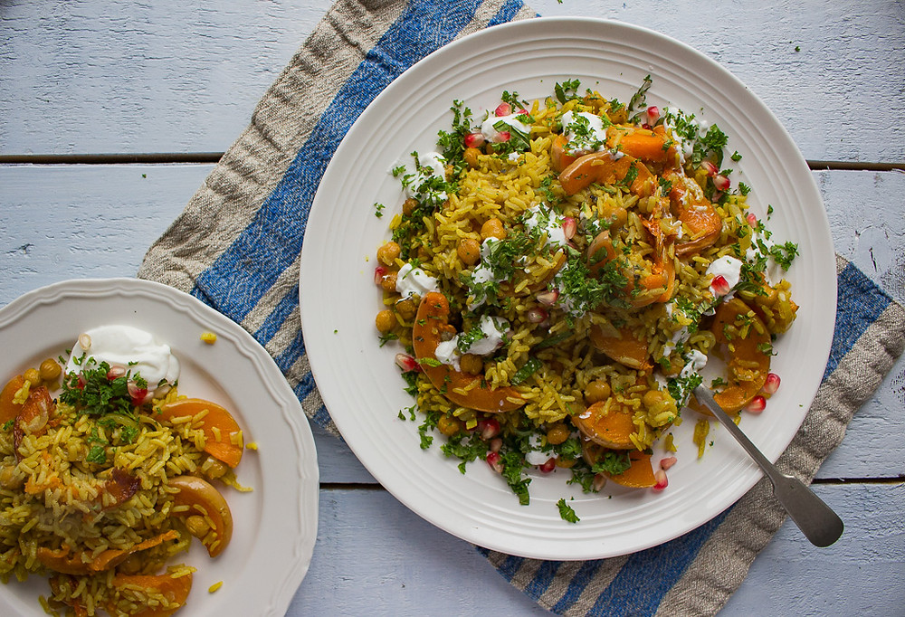 Picture of Butternut Squash Pilaf