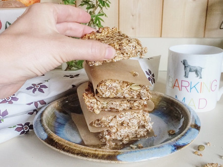 Your mid-morning snack is sorted with these Oat & Date Flapjacks